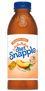 Snapple Diet Peach 20 oz PET - Pack of 24
