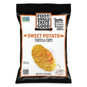 Food Should Taste Good Sweet Potato 1.5 oz Bag Pack of 24