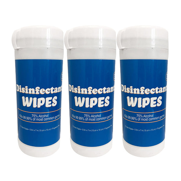 Disinfectant Wipes (72 Count) - 3 Pk