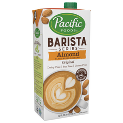 Pacific Barista Almond Original 32 oz Carton - Pack of 12