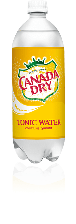 Canada Dry Tonic 1 Liter PET - Pack of 12