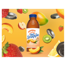 Load image into Gallery viewer, Snapple Diet Peach 20 oz PET - Pack of 24