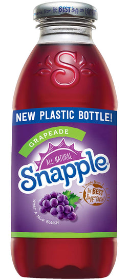 Snapple Grapeade 16 oz PET - Pack of 24