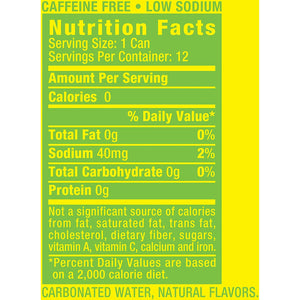 Canada Dry Lemon Lime 12 oz Can - Pack of 24