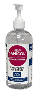 Sanicol 16 fl oz Hand Sanitizer - 12 pk