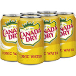 Canada Dry Tonic 12 oz Can - Pack of 24