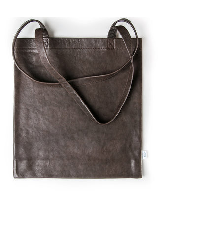 Kraud Leather fabricbag - Lammleder