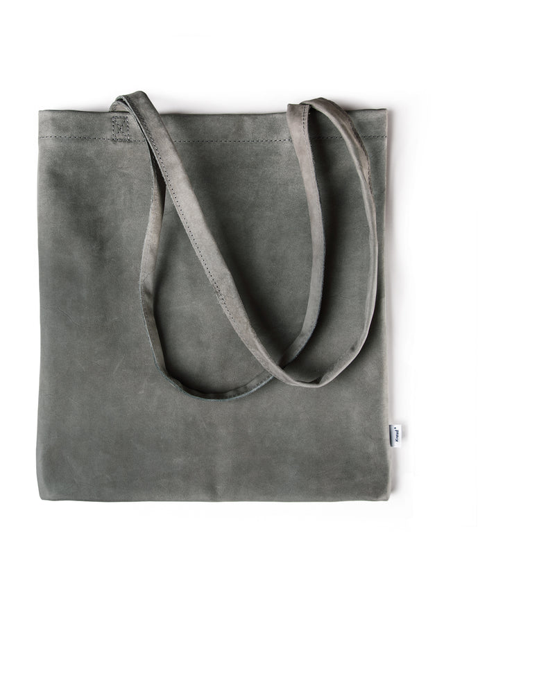 Kraud' Leather fabricbag - Nubuck cowhide