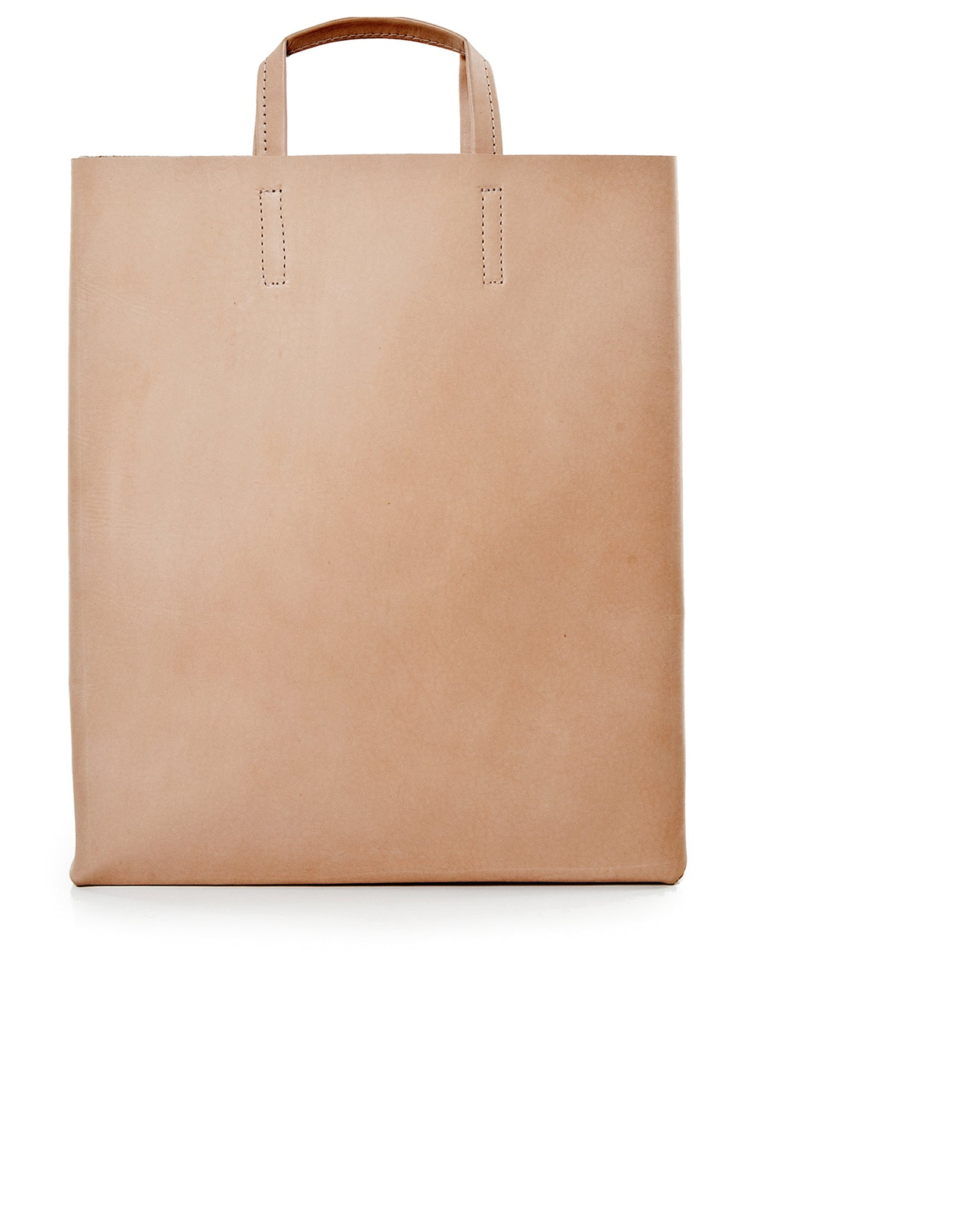 'Kraud' Leather paperbag