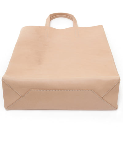 Kraud' Leather paperbag