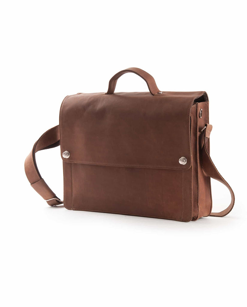 cubicbag toro briefcase small leather toro