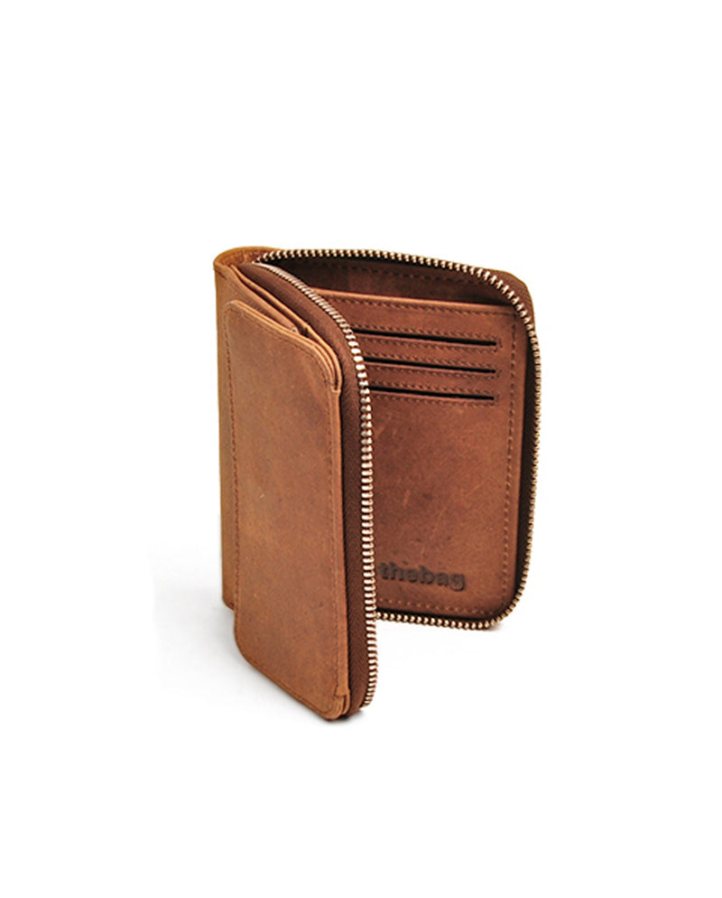 wallet zip flap