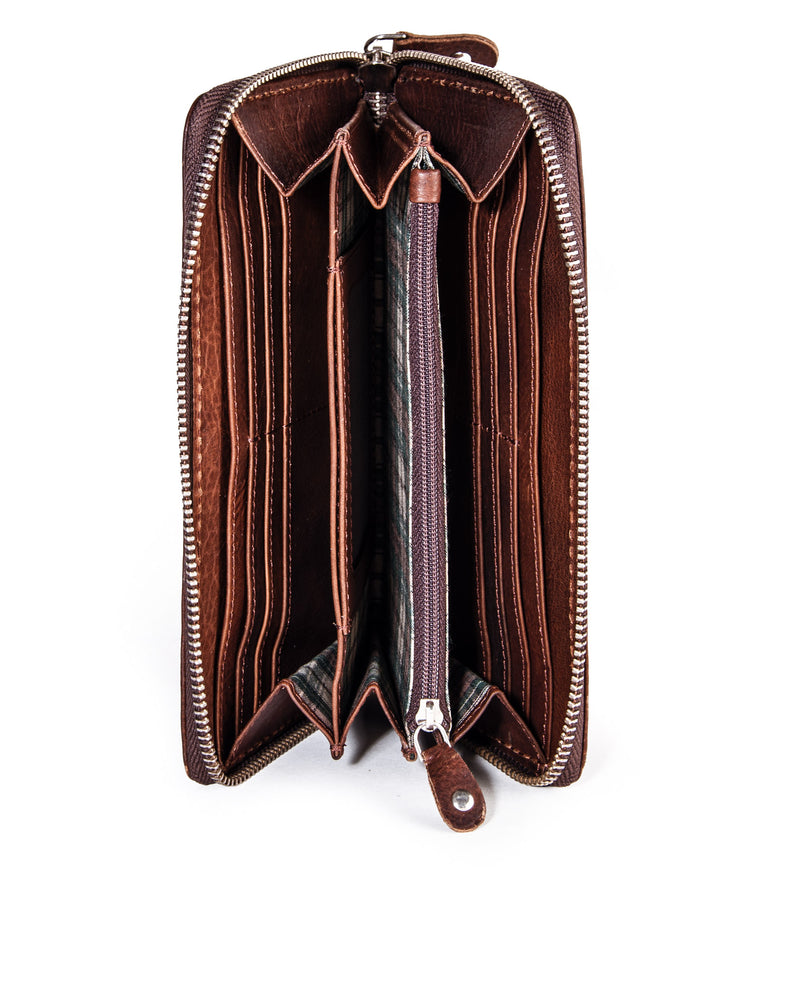 Saddle Zip wallet L
