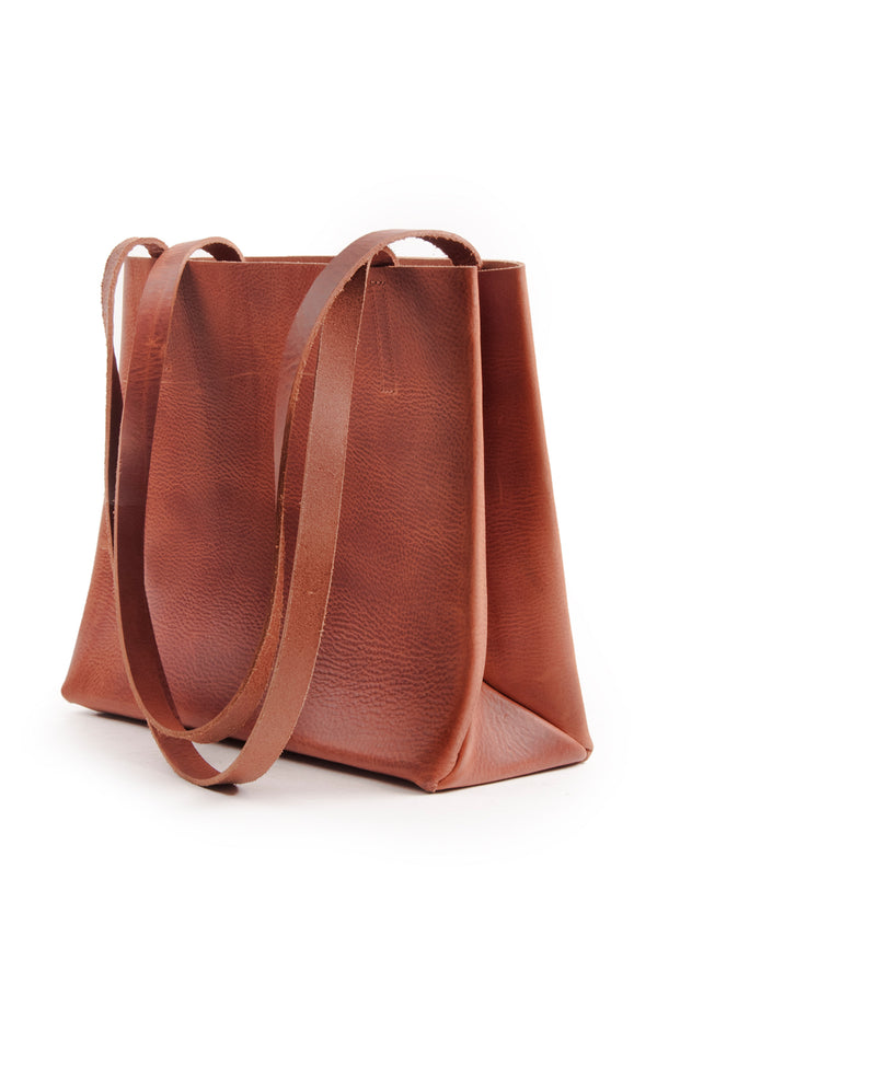 Kraud' Leather paperbag small