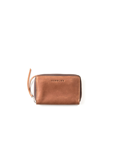Soft wallet zip small