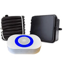 Dakota Alert DCRH-4K-Plus Wireless Alarm Kit: Receiver w/ Relay Outputs + IR Transmitter + 25' Rubber Hose Sensor