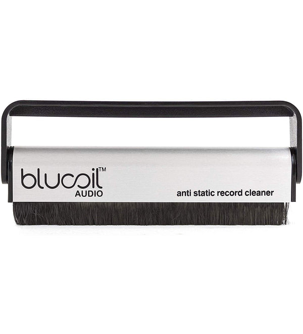 Blucoil Audio Carbon Fiber Anti-Static Cleaning Brush for Vinyl/LP Records and Speakers