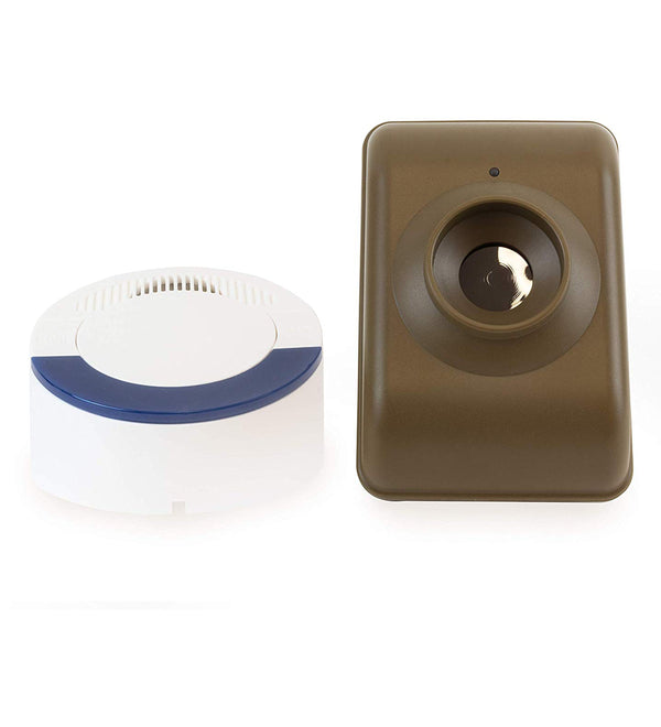 Dakota Alert DCMA-4000 Motion Detector Driveway Alarm System: Infrared Transmitter + Wireless Receiver