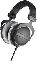 Beyerdynamic DT 770 PRO Studio Headphones + Slappa Full-Sized Headphone Case + Blucoil 6' 3.5mm Extension Cable