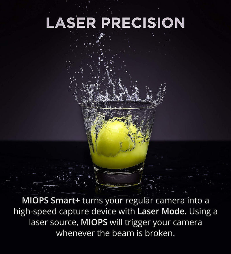 MIOPS Smart Standalone + Smartphone Controllable Camera / Flash Trigger for High-Speed Photography
