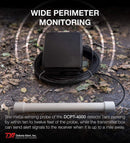 Dakota Alert DCPT-4000 Wireless Metal Detecting Probe for DCR-4000 Receiver & DCPA-4000 Alarm Systems