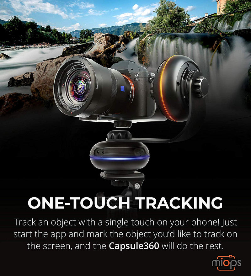 MIOPS Capsule360 Motion Box for iOS, Android, SLR, Mirrorless Cameras & Timelapse, 360° Photography