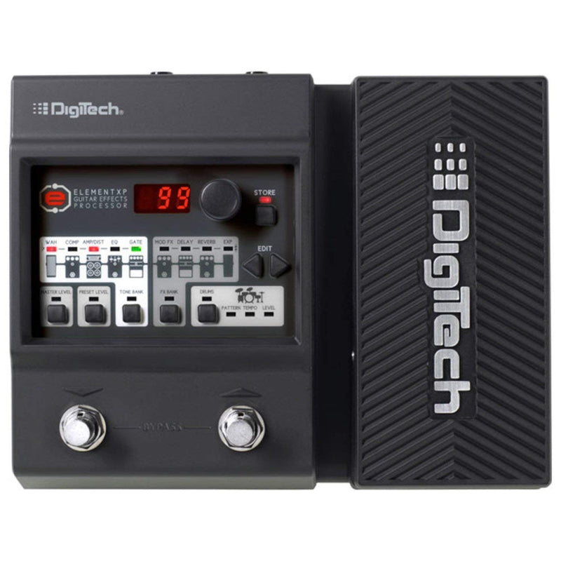 Digitech Element XP Guitar Floor Processor Multi-Effects Pedal w/ (2) 10' Guitar Cables