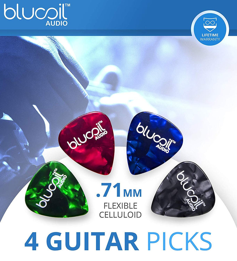 Zoom G3XN Guitar Multi-Effects Processor with Expression Pedal Bundle with Zoom Guitar Lab Software, 2 Hosa 5FT Instrument Cables and 4-Pack of Blucoil Celluloid Guitar Picks