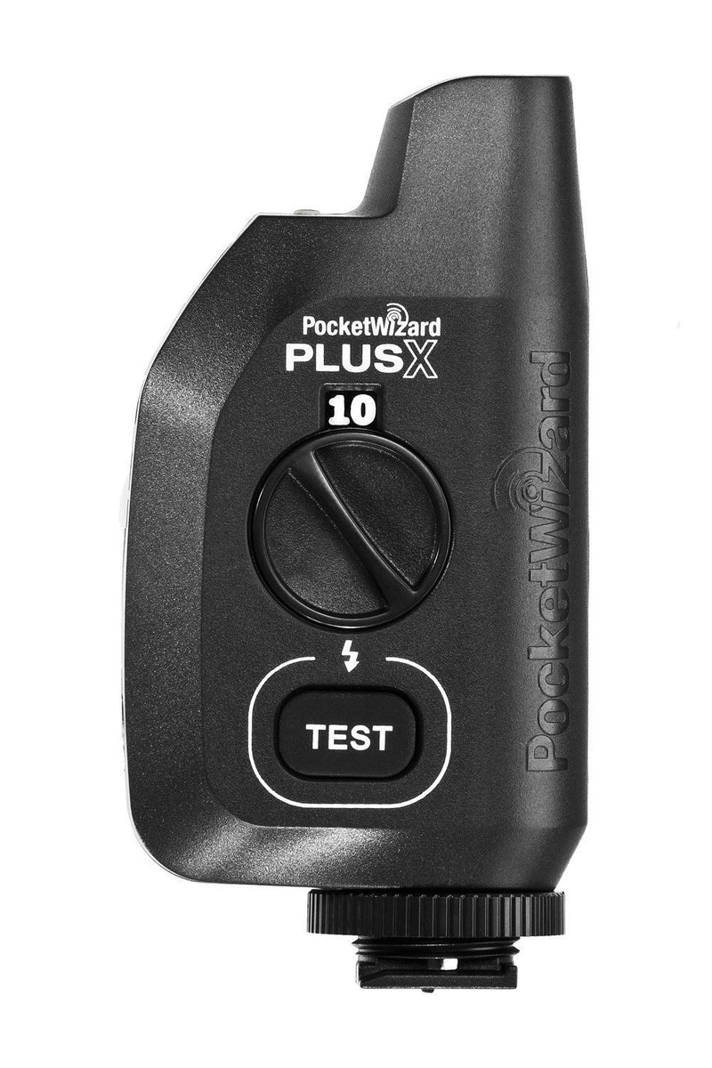 PocketWizard PlusX Transceiver Radio Trigger Bundle with 4-Pack of Blucoil AA Batteries