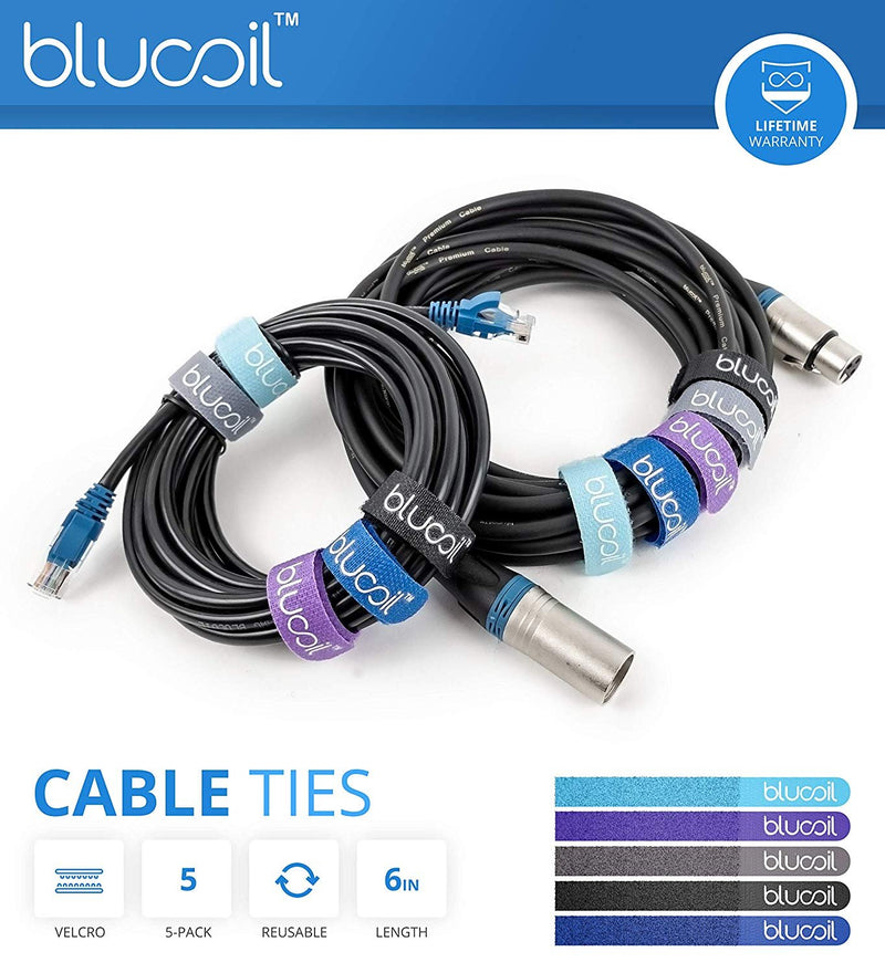 Ubiquiti UniFi AP UAP-US Unified Enterprise Access Point (Single) Bundle with Blucoil 14-feet Cat5e UTP Cable with RJ45 Connectors and 5-Pack of Reusable Cable Ties