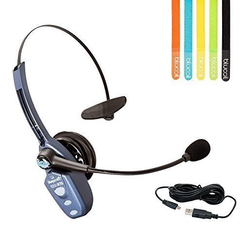 VXi BlueParrott B250-XTS Bluetooth Headset + MobileSpec 12' Charge-&-Sync Cable