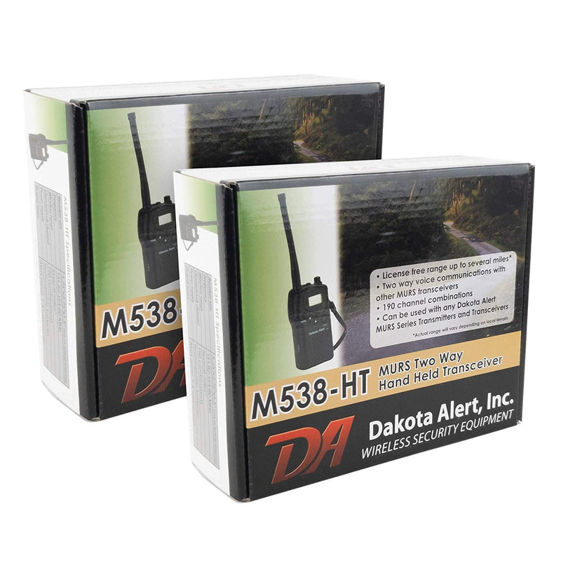 Dakota Alert M538-HT MURS Wireless Transceiver VAR