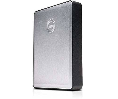 G-Technology 0G06074 G-Drive Mobile 4TB External Hard Drive USB 3.0 Connection -Includes- Blucoil Portable Shockproof Hard Case
