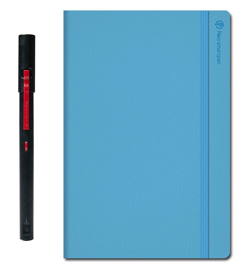 Neo Smartpen M1 Bluetooth Digital Pen for iOS, Android, Windows PC + N Notebooks Bundle