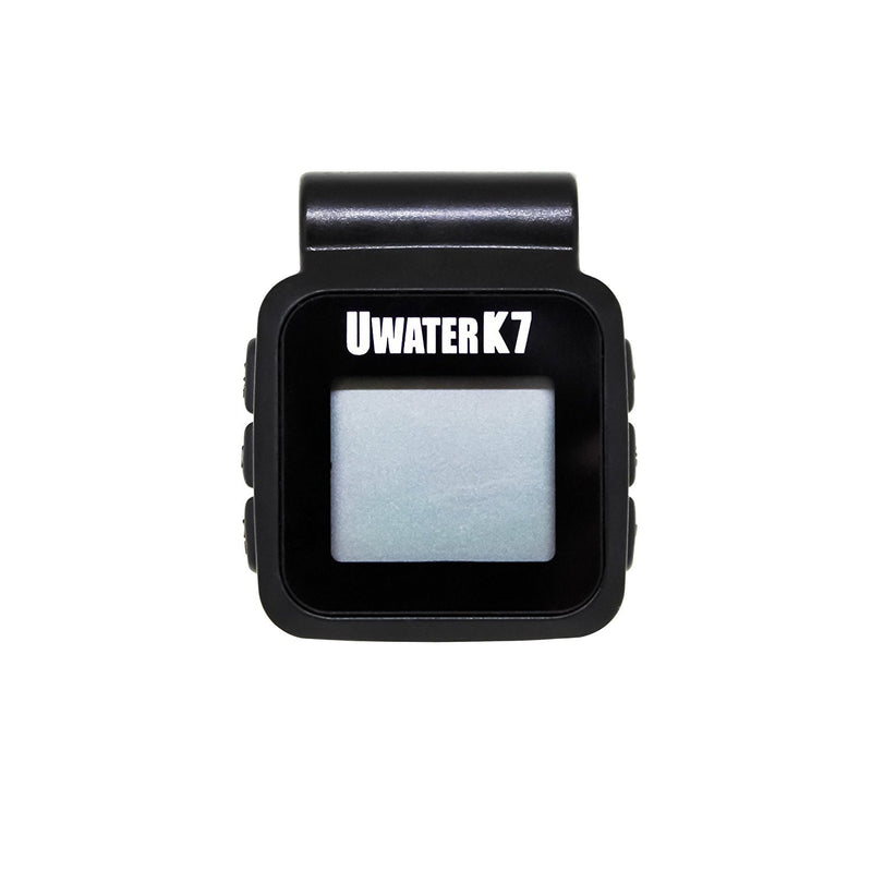 Fitness Technologies UWater K7 Waterproof FM/PLL MP3 Player with OLED Display -Includes- Blucoil Small Portable Water Resistant Travel Case