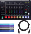 Roland TR-8S Rhythm Performer Bundle with Blucoil MIDI 5-Ft Cable and 5-Pack of Blucoil Reusable Cable Ties