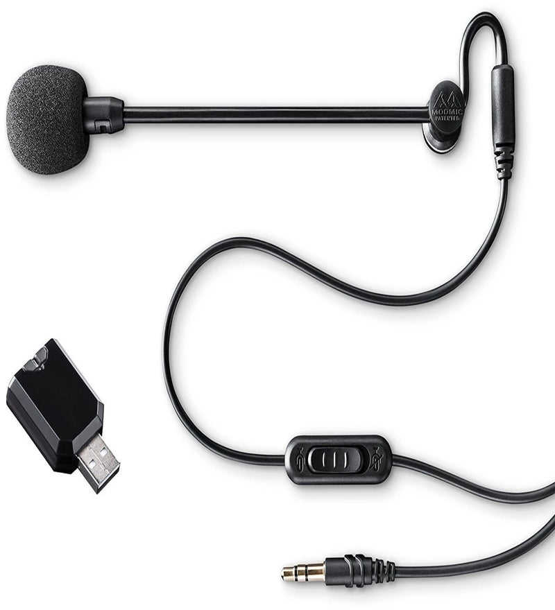 Antlion Audio ModMic Business Attachable Boom Microphone - Noise Cancelling for Offices, VOIP, Call-Centers, Video Conferencing, and Remote Work