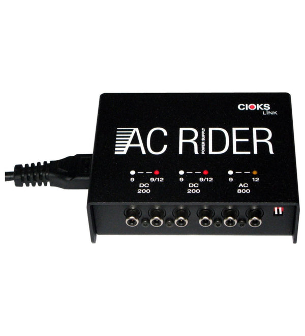 CIOKS AC Rider Link DC Universal Power Supply with 9V, 12V Isolated Outputs and for Effects Pedals