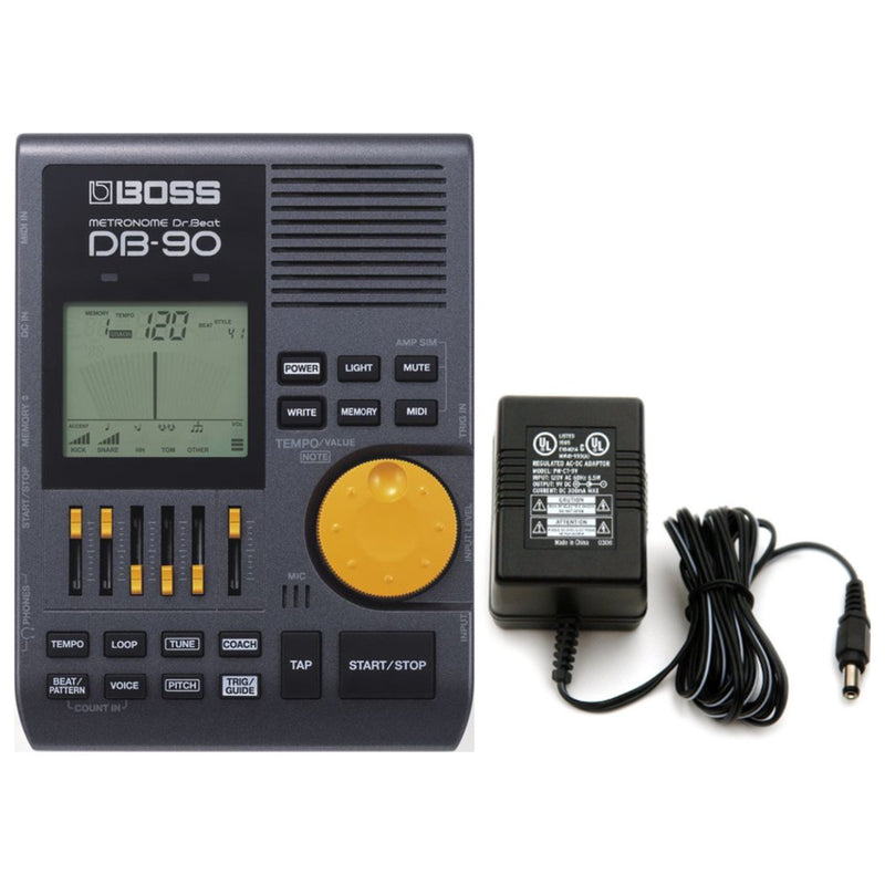 BOSS DB-90 Talking Dr. Beat Metronome w/ Power Supply