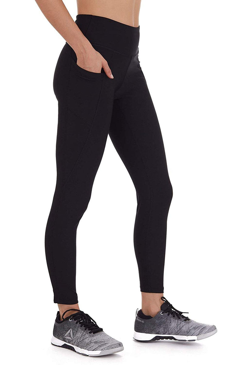 Cover Girl Leggings with Phone Pockets - Black (XS)