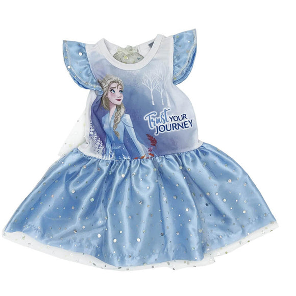 Vestido Disney Elsa Estampado - Kiss