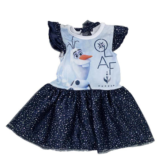 Vestido Disney Olaf Estampado - Kiss