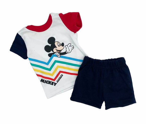 Conjunto Algodón Disney Hey Mickey - Kiss