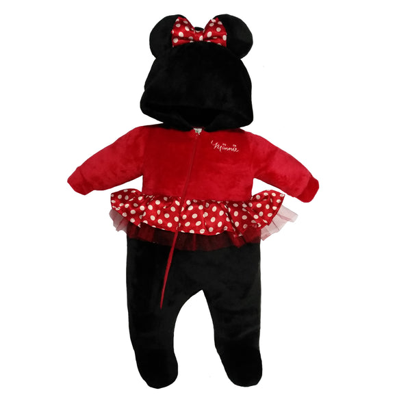 Mameluco con Gorro y Bordado Disney Minnie - Kiss