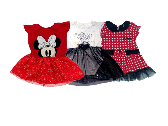 Paquete Disney Vestidos Minnie - Kiss