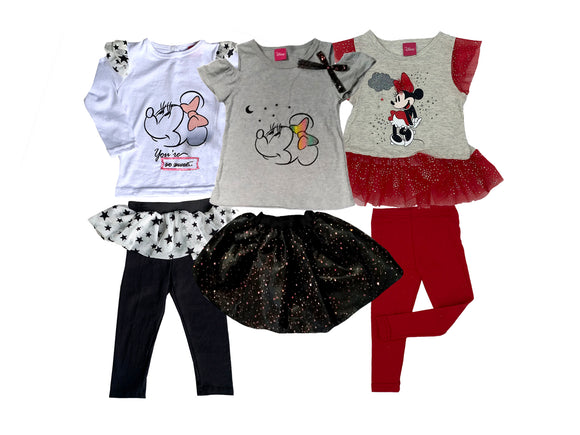 Paquete 3 Conjuntos Disney Minnie - Kiss