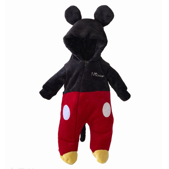Mameluco con Gorro Bordado Disney Mickey - Kiss