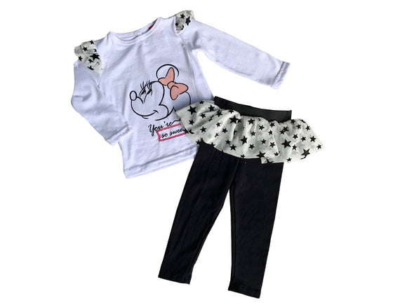 Conjunto Algodón Disney Minnie your so sweet - Kiss