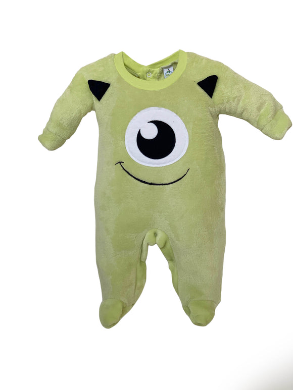 Mameluco con Bordado Disney Mike Wazowski - Kiss