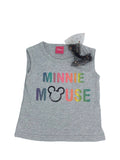 Conjunto algodon playera con malla estampado Disney Minnie Mouse - Kiss